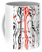Middle Of The Road Coffee Mug
