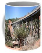 Midgley Bridge And Oak Creek Canyon  Coffee Mug