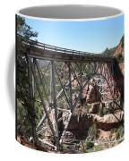 Midgley Bridge Over Oak Creek Canyon Coffee Mug