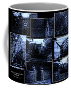 Midnight At The Prison Collage Coffee Mug