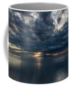 Midnight Clouds Over The Water Coffee Mug