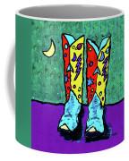 Midnight Cowboy Boots Coffee Mug