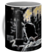Midnight Glow Crow Coffee Mug