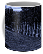 Midnight In The Garden Of Stones Coffee Mug by Thomas Woolworth
