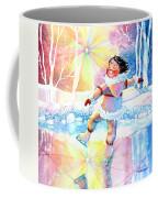 Midnight Sun Skating Fun Coffee Mug
