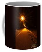 Midnight Walk Coffee Mug by Olivier Le Queinec