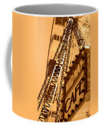 Midway Cafe Sepia Coffee Mug
