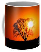 Mighty Oak Sunset Coffee Mug