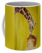 Mika And Giraffe Coffee Mug