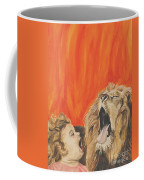Mika And Lion Coffee Mug