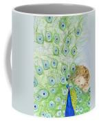Mika And Peacock Coffee Mug
