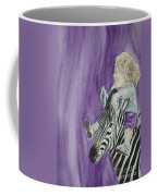 Mika And Zebra Coffee Mug