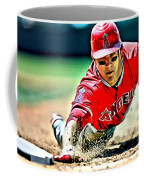 Mike Trout Painting Coffee Mug