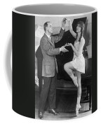 Mikhail Mordkin And Student Coffee Mug by Underwood Archives