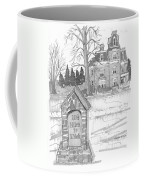 Mile Marker And Victorian Coffee Mug