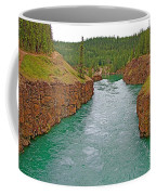 Miles Canyon In Whitehorse-yt Coffee Mug