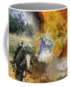 Military Flame Thrower Photo Art 02 Coffee Mug
