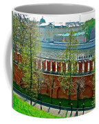 Military Parade Practice Inside Kremlin Walls In Moscow-russia Coffee Mug