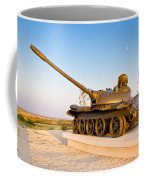Military Tank Outdoor Installation View Coffee Mug
