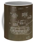 Military Tank Patent Coffee Mug