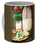 Milk And Cookies Coffee Mug by Edward Fielding