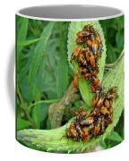 Milkweed Bug Nymphs - Oncopeltus Fasciatus Coffee Mug