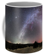 Milky Way, Zodiacal Light And Other Coffee Mug