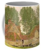 Mill On The Thames At Mapledurham, 1860 Coffee Mug