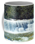 Mill Shoals Waterfall During Flood Stage Coffee Mug