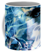 Milla Jovovich Portrait - Water Reflections Series Coffee Mug