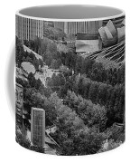 Millenium Park From Above Coffee Mug