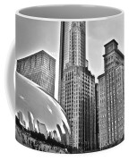 Millennium Park In Black And White Coffee Mug