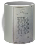 Milton Bradley Life Game Patent Coffee Mug