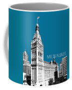 Milwaukee Skyline City Hall - Steel Coffee Mug