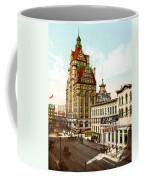Milwaukee's Wisconsin Street 1899 Coffee Mug