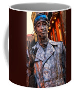 Mime In Silver On Bourbon St. Coffee Mug