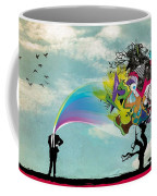 Mind Outburst Coffee Mug by Gianfranco Weiss