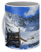 Mine Relics In The Snow Coffee Mug