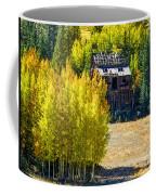 Mine Shack In Aspens Coffee Mug
