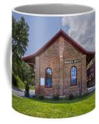 Mineral Bluff Station Coffee Mug by Debra and Dave Vanderlaan