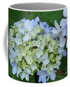 Mini Blue Hydrangea Coffee Mug