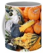 Mini Pumpkins And Gourds Coffee Mug