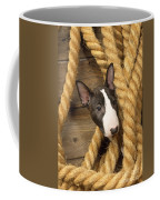 Miniature Bull Terrier Puppy Coffee Mug