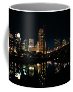 Minneapolis Night Skyline Coffee Mug