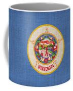 Minnesota State Flag Coffee Mug by Pixel Chimp
