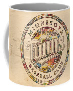 Minnesota Twins Logo Vintage Coffee Mug