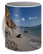 Binigaus Beach In South Coast Of Minorca With A Turquoise Crystalline Water - Paradise In Blue Coffee Mug