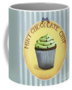Mint Chocolate Chip Cupcake Coffee Mug by Catherine Holman