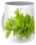 Mint Sprigs In Bowl Coffee Mug