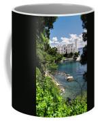 Miramare Castle Beach Coffee Mug
